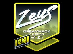 Sticker | Zeus (Foil) | Cluj-Napoca 2015