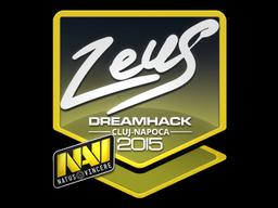 Наклейка | Zeus | Клуж-Напока 2015