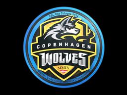 Наклейка | Copenhagen Wolves | Кёльн 2014
