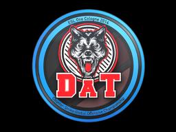 Наклейка | dAT team | Кёльн 2014