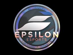 Наклейка | Epsilon eSports (голографическая) | Кёльн 2014