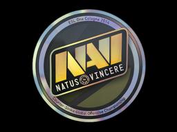 Наклейка | Natus Vincere (голографическая) | Кёльн 2014
