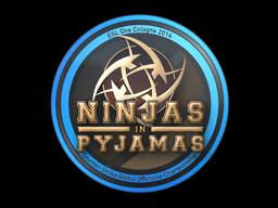 Sticker | Ninjas in Pyjamas | Cologne 2014