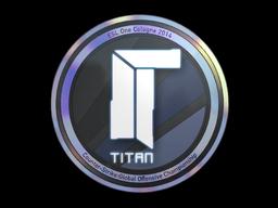Наклейка | Titan (голографическая) | Кёльн 2014