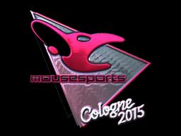 Наклейка | mousesports (металлическая) | Кёльн 2015