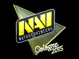 Наклейка | Natus Vincere (металлическая) | Кёльн 2015