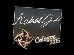 Sticker | allu | Cologne 2015