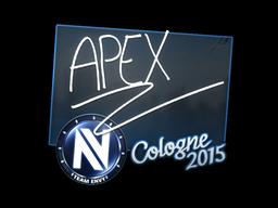 Sticker   apEX   Cologne 2015