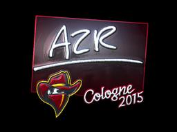 Sticker | AZR (Foil) | Cologne 2015