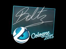 Sticker | boltz | Cologne 2015