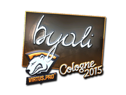 Наклейка | byali (металлическая) | Кёльн 2015