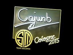 Sticker | cajunb (Foil) | Cologne 2015