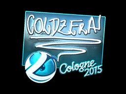 Sticker | coldzera (Foil) | Cologne 2015