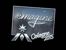 Наклейка | emagine (металлическая) | Кёльн 2015