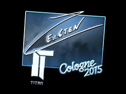 Sticker | Ex6TenZ (Foil) | Cologne 2015