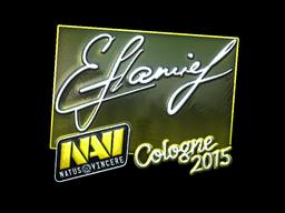 Sticker | flamie (Foil) | Cologne 2015