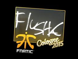 Наклейка | flusha | Кёльн 2015
