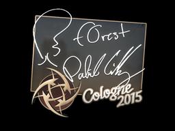Sticker | f0rest | Cologne 2015