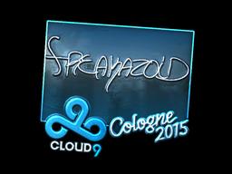 Наклейка | freakazoid (металлическая) | Кёльн 2015