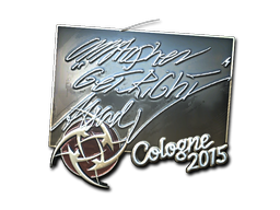 Sticker | GeT_RiGhT (Foil) | Cologne 2015