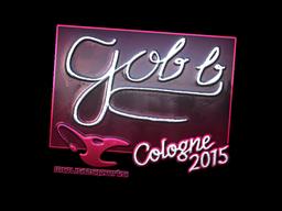 Наклейка | gob b (металлическая) | Кёльн 2015