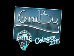 Sticker | GruBy (Foil) | Cologne 2015