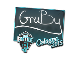 Sticker | GruBy | Cologne 2015