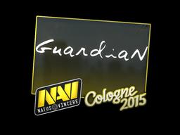 Наклейка | GuardiaN | Кёльн 2015