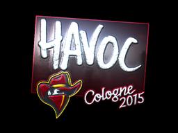 Sticker | Havoc (Foil) | Cologne 2015