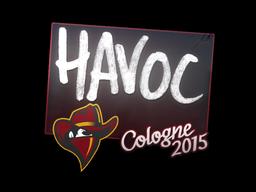 Наклейка | Havoc | Кёльн 2015
