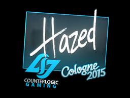 Наклейка | hazed | Кёльн 2015