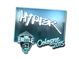 Sticker | Hyper (Foil) | Cologne 2015