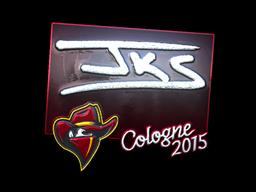 Sticker | jks (Foil) | Cologne 2015