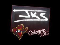 Наклейка | jks | Кёльн 2015