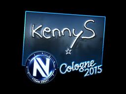 Sticker | kennyS (Foil) | Cologne 2015