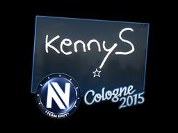 Sticker   kennyS   Cologne 2015