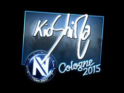 Sticker | kioShiMa (Foil) | Cologne 2015