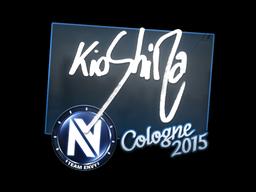 Sticker   kioShiMa   Cologne 2015