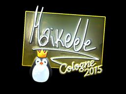 Sticker | Maikelele (Foil) | Cologne 2015