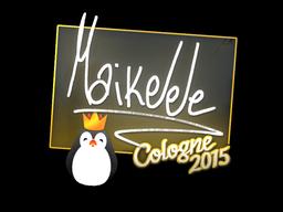 Наклейка   Maikelele   Кёльн 2015