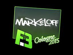 Sticker   markeloff   Cologne 2015