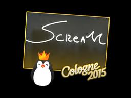 Наклейка   ScreaM   Кёльн 2015