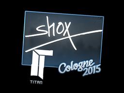 Наклейка | shox | Кёльн 2015