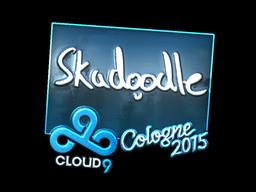 Наклейка | Skadoodle (металлическая) | Кёльн 2015