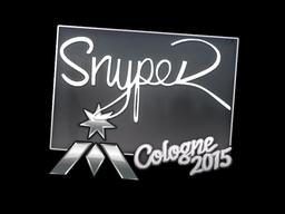Наклейка | SnypeR | Кёльн 2015