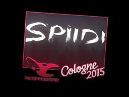 Наклейка | Spiidi | Кёльн 2015