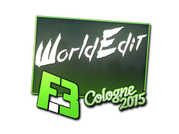 Sticker   WorldEdit   Cologne 2015
