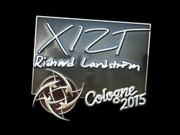 Sticker | Xizt (Foil) | Cologne 2015