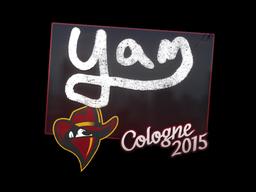 Наклейка | yam | Кёльн 2015