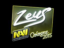 Sticker | Zeus (Foil) | Cologne 2015